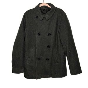 Old navy wool blend pea coat